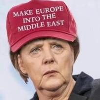 angela merkel MAGA Germany Middle East Israel jews 25152055_919998424833854_652742009861790711_n