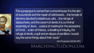 Chrysostom on jews
