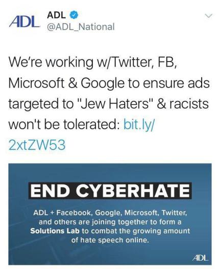 end cyber hate for jews 22519544_499077627128407_1170257732107524794_n
