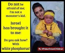 how jews mangle children faces and lives with hot white phosphorus 32411103_116990189176281_1101205580057411584_n