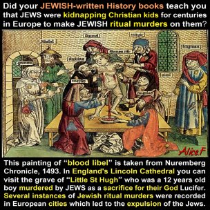 jew blood libel satan christian children hugh DKtaAWCUMAASXtV