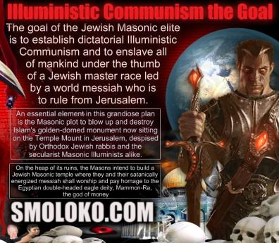 jew illuministic communism MasonicPlotIlluminatiJerusalemMEME
